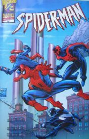 Spider-man Wizard #1/2 Half COA Marvel comic book